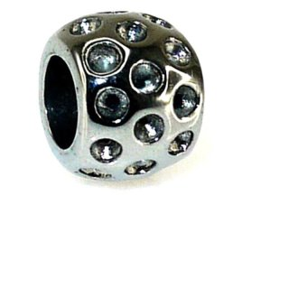 Imono Steel Jewelry 72ISP Charm (Silver)