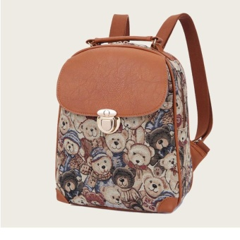 (Imported)BEST-JUYJ Top rate Fashion School Backpack Women Children Schoolbag Back Pack Leisure Korean Ladies Knapsack Laptop Travel Bags for Teenage Girls - intl - 2