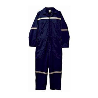 Industrial Poly-cotton Navy Blue Coverall Jumpsuit with ReflectorBody Protection General Purpose Work Wear Price Philippines