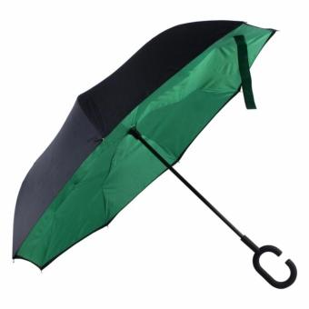 Inverted C- handle Umbrella (Green) Price Philippines