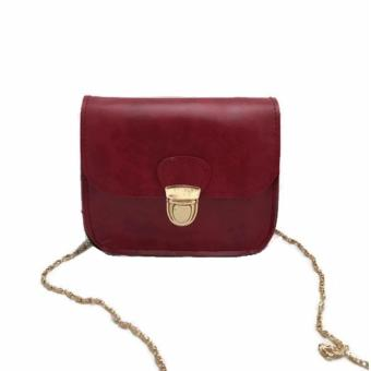 Isabel K005 Crossbody Shoulder Bag (Red)
