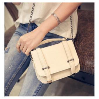 Isabel K013 Fashionable Crossbody Shoulder Bag (Neutral)