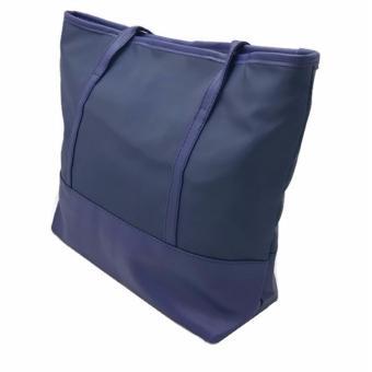 Isabel K018 Fashionable Nylon Shoulder Bag (Navy Blue) - 3