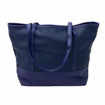 Isabel K018 Fashionable Nylon Shoulder Bag (Navy Blue) - 2