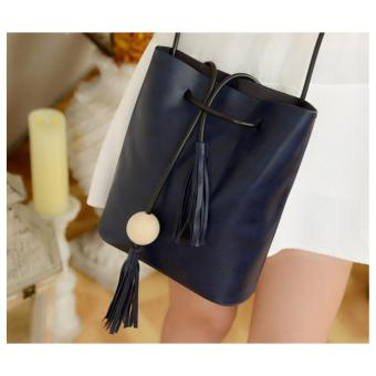 Isabel K029 Tassel Shoulder Bag (Blue)