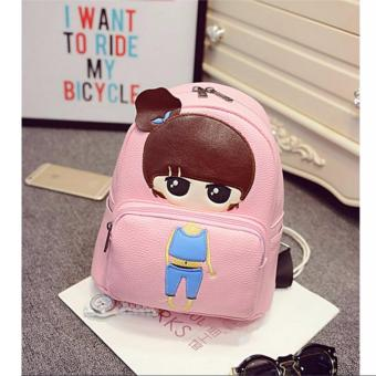 Isabel K047 Trendy Korean Girl Backpack (Pink) Price Philippines