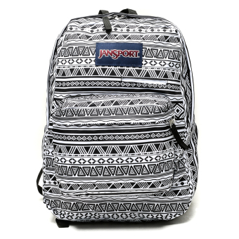 Jansport Digibreak Backpack (Black/White Jazzy Geo) Price Philippines