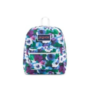 Jansport US Overexposed Backpack Multi Water Color Floral (Multicolor)