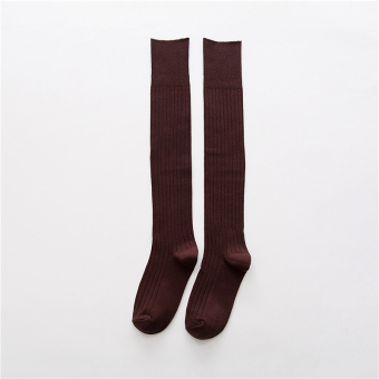 Japanese-style cotton autumn long leg socks-and knee socks (PARK'S color)