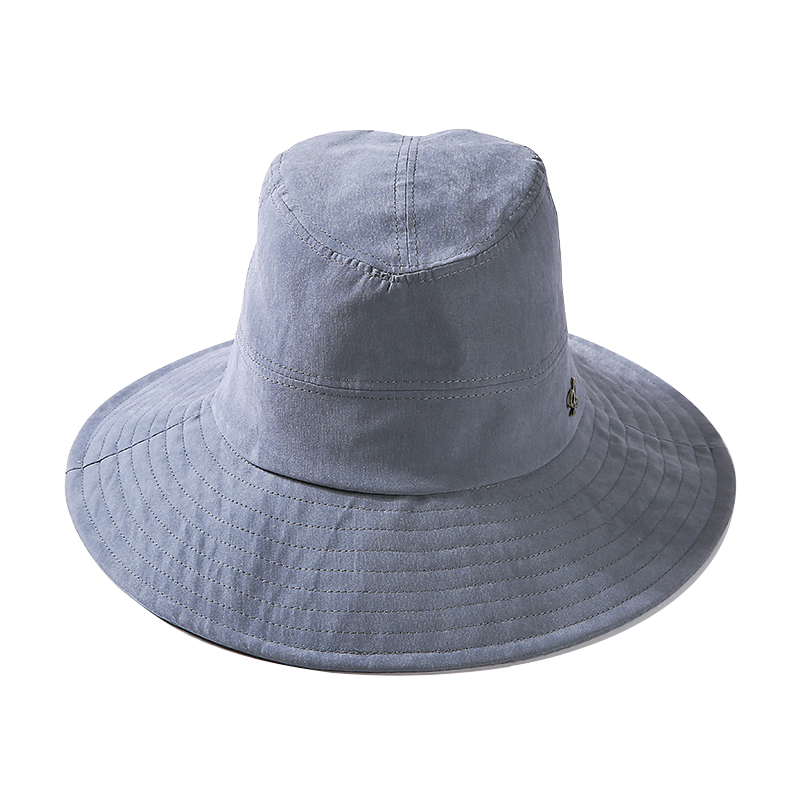 4a33ae6d5a0a82 ... amazon japanese style solid color women men and women bucket hat  fisherman hat blue 6846f 74fb4