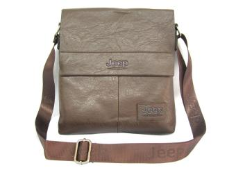 Jeep Men'S Messenger Slingbag #926 (Coffee)