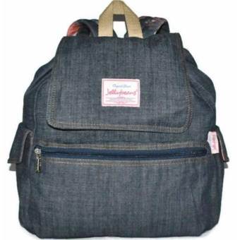 Jellybeans Backpack Denim Jewel (Navy blue) Price Philippines