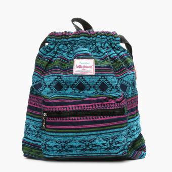 Jellybeans Vax Drawstring Bag (Multicolored)