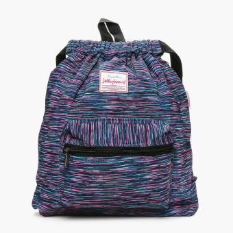 Jellybeans Vishnu Drawstring Bag (Multicolored)