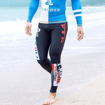 Jellyfish Long Swimming Pants Tights Men Quick Dry UV Rash Guard Surf Pant Diving Snorkeling Leggings Spring Summer - intl - 5