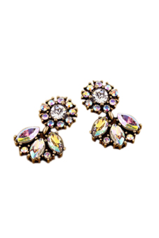 Jetting Buy Bohemian Flower Drop Crystal Earring