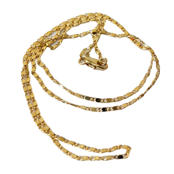 Jetting Buy Yellow Gold Filled Rolo Chain Necklace 20