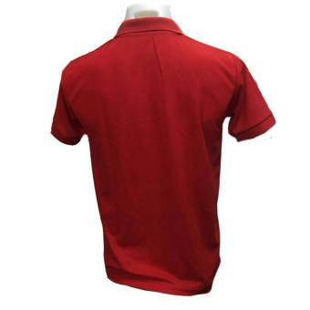 JEVANA Knitted Plain Polo Shirt (Red) - 5
