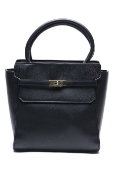 Jewelmine Hepburn Top-Handle Bag (Black) - picture 2