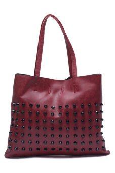 Jewelmine Mc Queen Mid Tote Bag (Maroon)