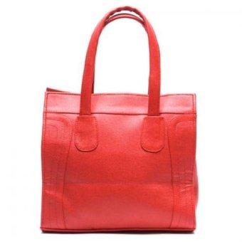 Jewelmine Reese Micro Luggage Tote Bag (Red)