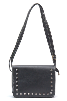 Jewelmine Scarlett Sling Bag (Black)