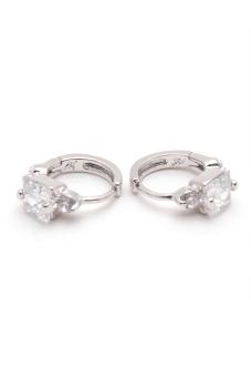Jewelrista EAR028 Earrings White Gold