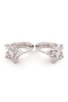 Jewelrista EAR032 Earrings White Gold