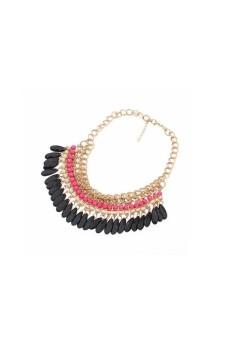 Jewelry Pendant Beads Choker Neck Rose - picture 2