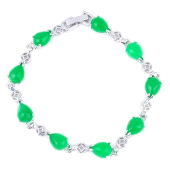 Jewelworld Imperial 5 Bracelet (Green)