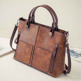 Jianyue New style bag women's bag (Brown)