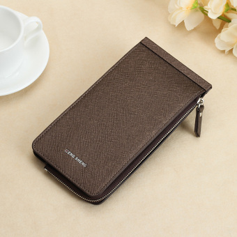 Jianyue ultra-thin wallet multi-function card holder (Bronze color)
