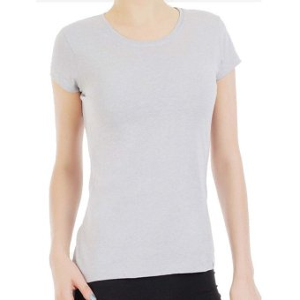 Jockey Comfies Round Neck T-Shirt (Heather Gray)