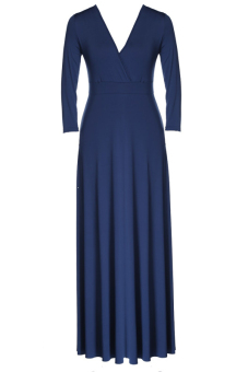 Jo.In New Fashion Stylish Lady Women Formal Prom Dress CocktailBall Evening Party Long Dress L-XXXL (Blue)