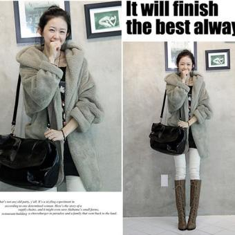 Jo.In New Women's Hoodie Down Warm Outerwear Cardigan Jacket Coat -intl