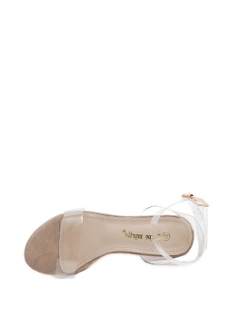 JollyChic Women's Sandals Transparent Ankle Strap Chunky Heel Shoes - intl - 3