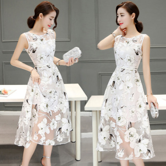 JOY Korea Korean fashion fashionable dress of cultivate one's morality show thin A word - Intl