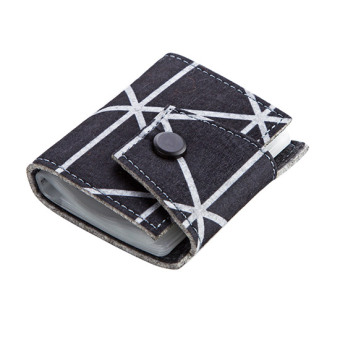 Jujiajia Large Capacity Multi Card Holder Wallet (1 button style)