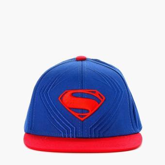Justice League Mens Snap Back Cap (Black)