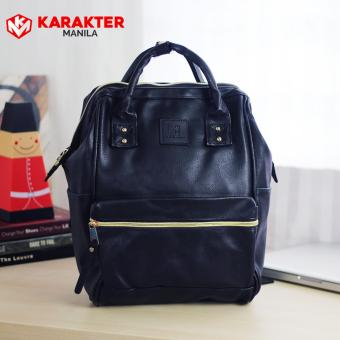 Karakter Manila Stella Leather Rucksack Convertible Bag HandBagBackpack (Black) Price Philippines