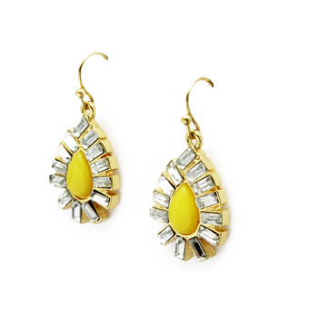 Kate Spade New York Capri Yellow Garden Earrings