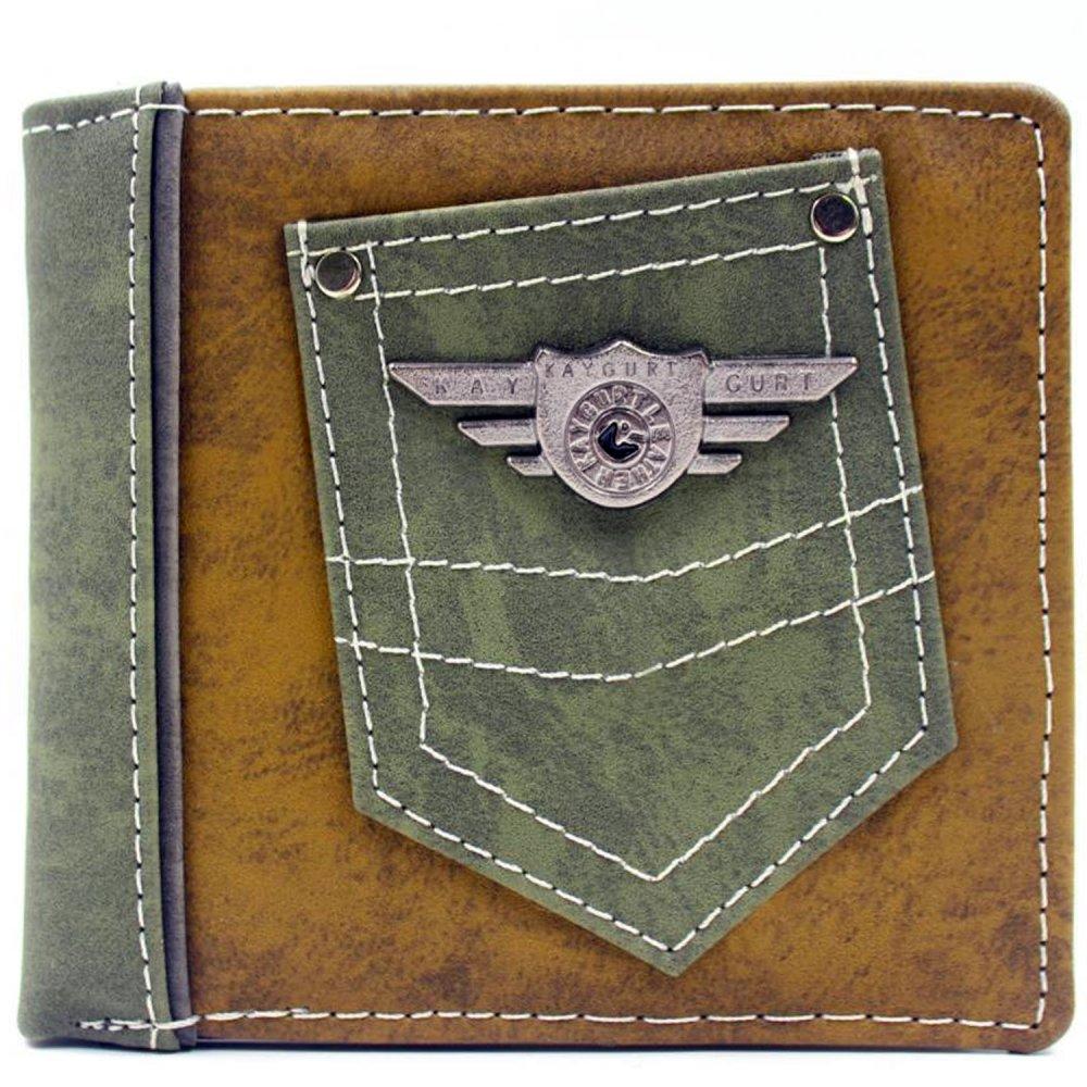 KayGurt With Pocket Earth Tone Wallet (Brown Sap/Green)