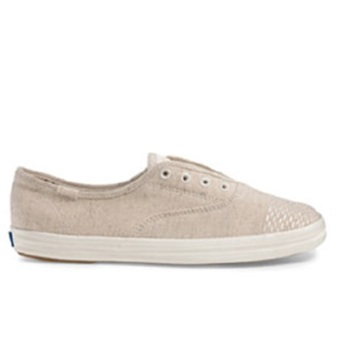Keds Champion CH Laceless Seed Stitch Sneakers (Natural) Price Philippines