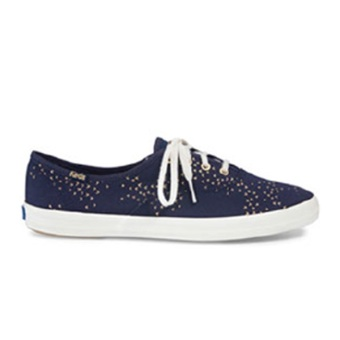 Keds Champion CH Mini Bird Sneakers (Navy/Gold)