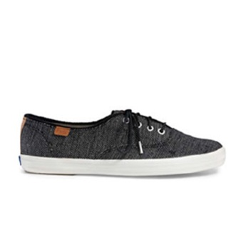 Keds Champion CH Salt & Pepper Sneakers (Black)