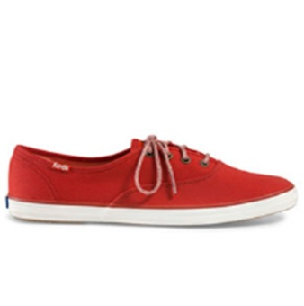 Keds Champion CH Seasonal Solid Sneakers (Ketchup Red)