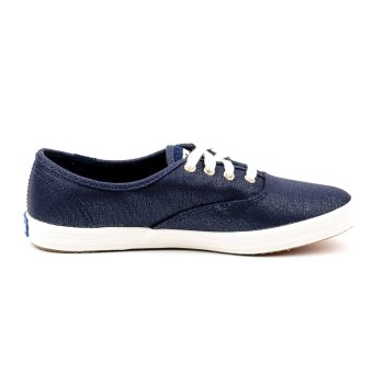Keds Champion Metallic Canvas Sneakers (Navy)