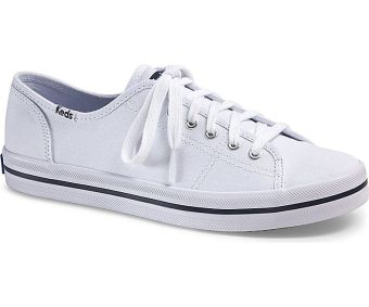 Keds Ladies Kickstart Sneakers (White)