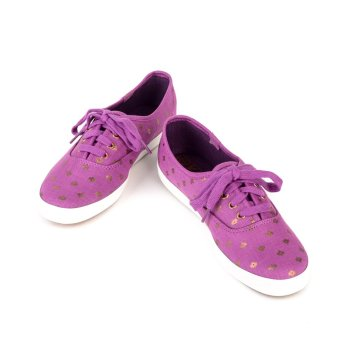 KEDS WF53400 CH Metallic Native Dot Women's Sneaker Shoes (Magenta) - 3