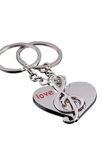 Key Ring Key Lover Music Keyring - picture 2